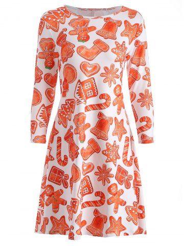 GET $50 NOW | Join RoseGal: Get YOUR $50 NOW!http://www.rosegal.com/print-dresses/christmas-print-swing-dress-847898.html?seid=7438041rg847898