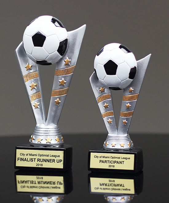 Show details for Fanfare Soccer Trophy
