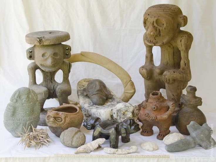 Taino Artifacts by Serge Capuono | Anthropological figures ...