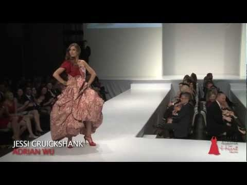 2012 The Heart Truth Fashion Show in Toronto