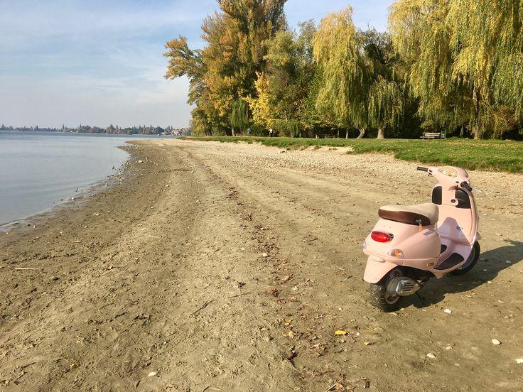 Vespa et2 pink lake