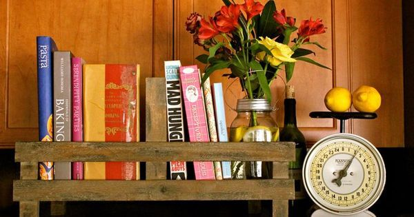cookbooks on top of refrigerator - Google Search