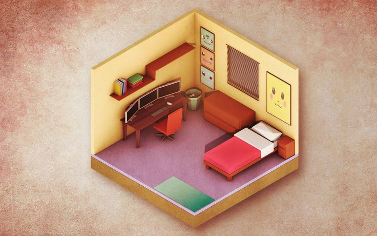 My first ever isometric/low poly thingy... thoughts?
