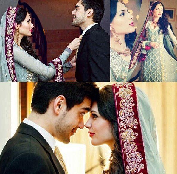 Pakistani Bridal Wear <3 S&M J <3 us :') inshAllah!