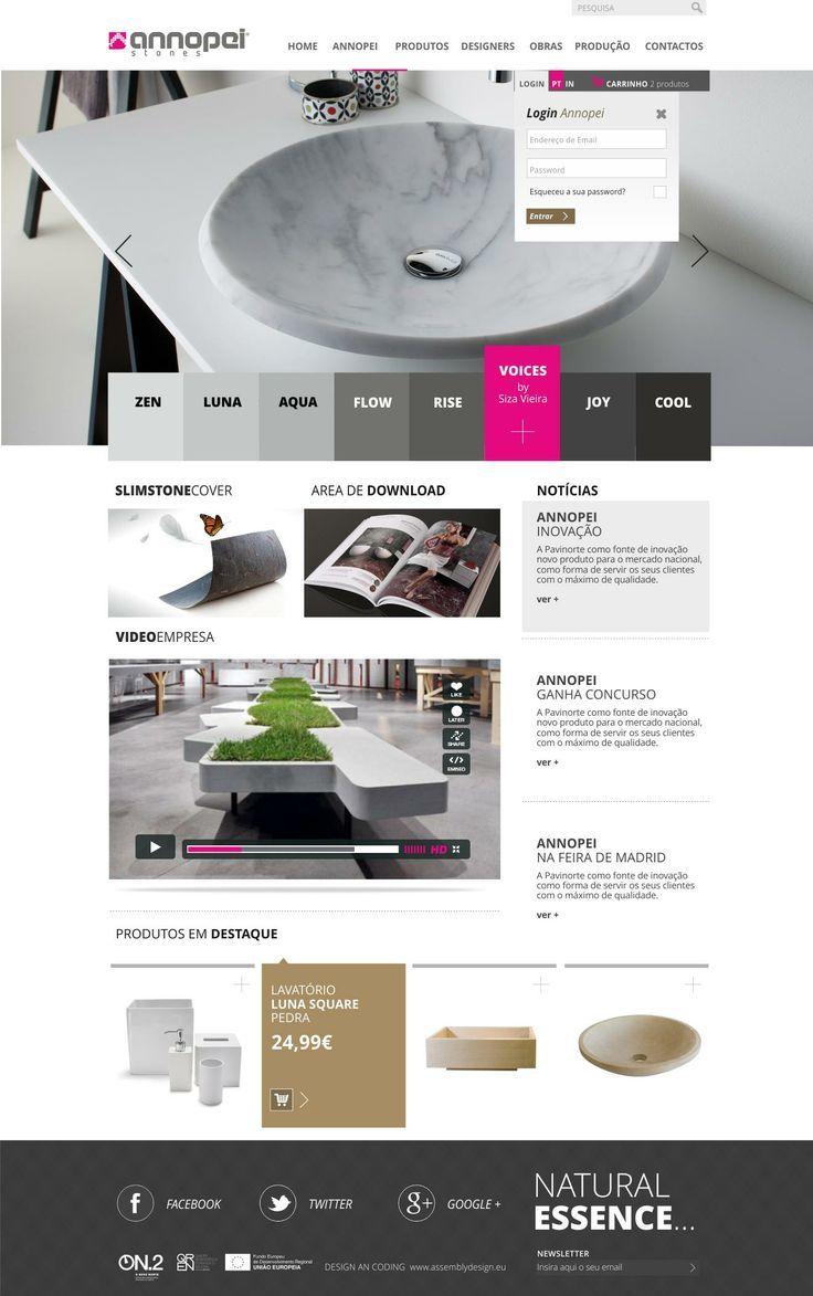 AnnopeiStones #LojaOnline #Webdesign