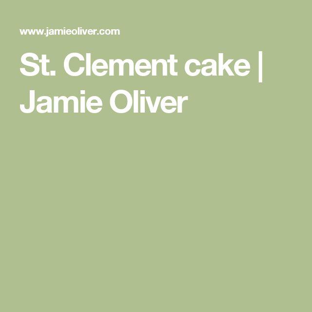 St. Clement cake | Jamie Oliver