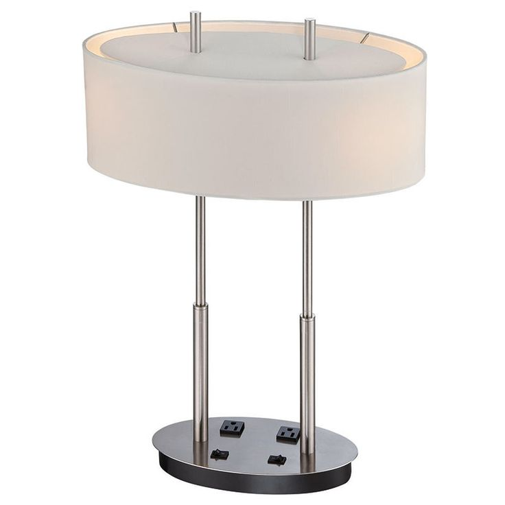 lamp has on off rocker switches on the base along with two electrical. Black Bedroom Furniture Sets. Home Design Ideas
