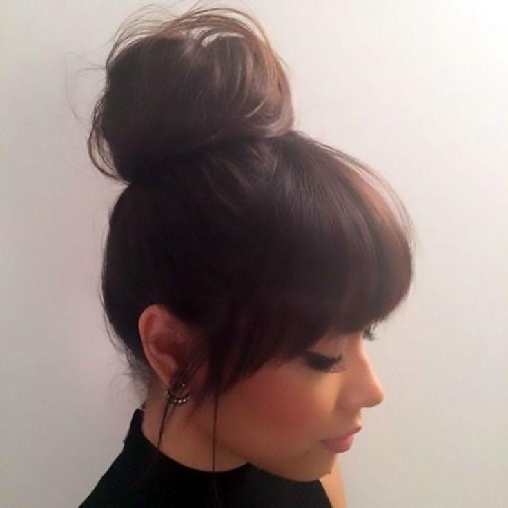 best 25 cute bangs ideas on pinterest