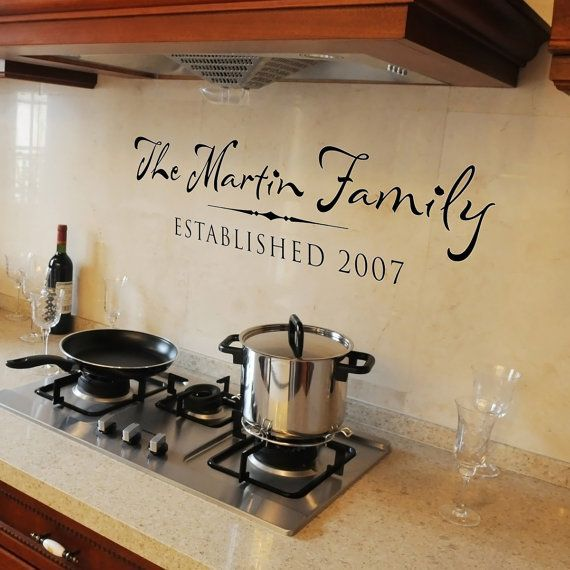 Personalized Vinyl Wall Decal Wall Words by OldBarnRescueCompany. I want one of these... :-)