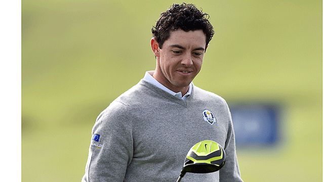 Ryder Cup 2014: Rory McIlroy Tests New Nike Vapor Driver at Gleneagles ...