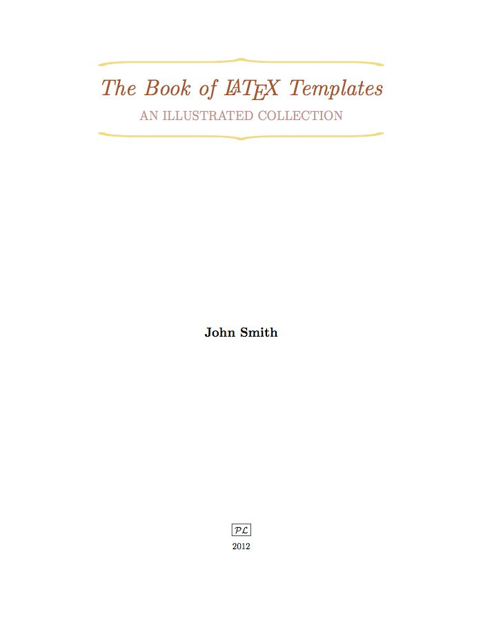 Book Cover Template In Latex : Best images about latex templates on pinterest