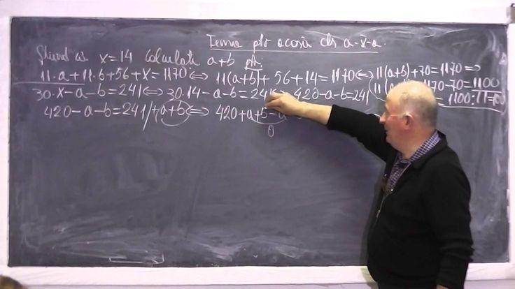 1/2 Lectia 656 - Factor comun | Sume Gauss | Patrat si Cub perfect Opera...
