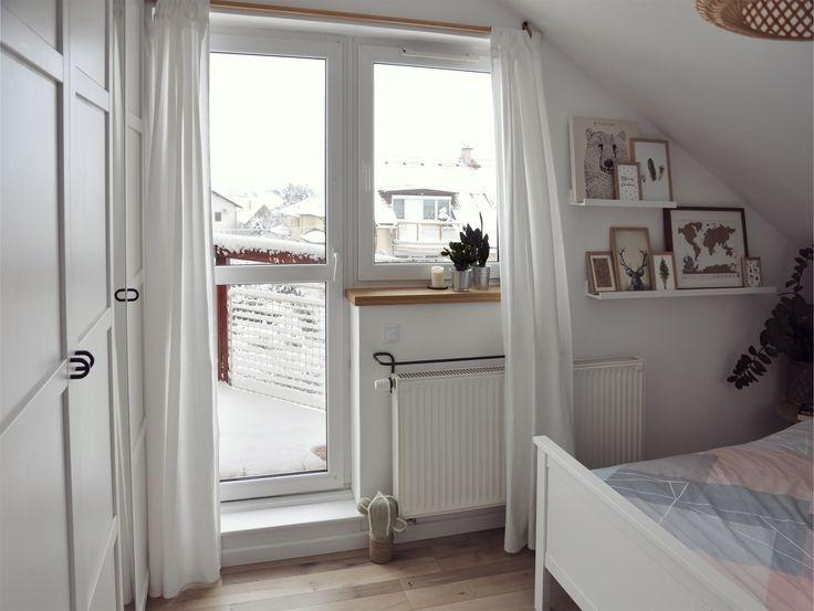 whithe scandinavian bedroom