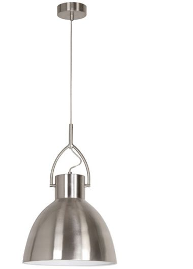 Perno.30 Metal Shade Pendant - Brushed Chrome, Pendants, Contemporary, New Zealand's Leading Online Lighting Store