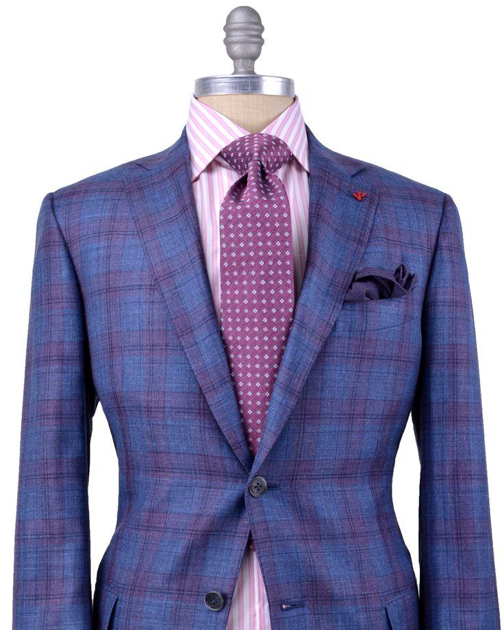 Mens Purple Dress Shirt And Tie
