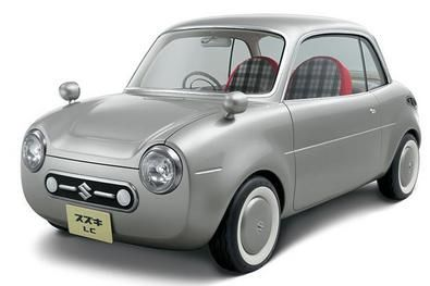 Suzuki retro micro car LC concept car for Tokio Motor Show 2005
