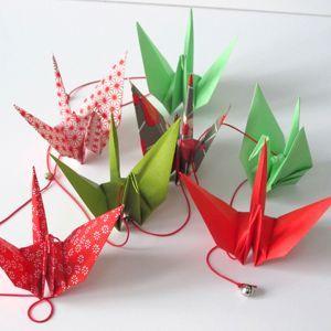 Guirlande d'origami n°4