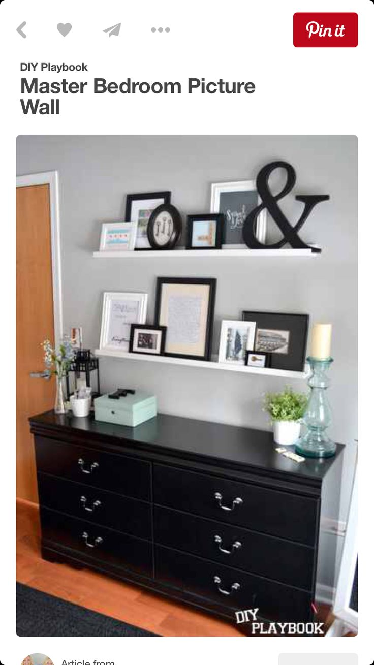 Shelving decor with classy Chester drawers.