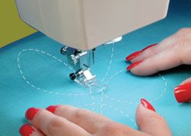 A sewing machine that does Sashiko stitches that look handmade!  Why oh why am I not made of money?   (Sashiko Babylock)