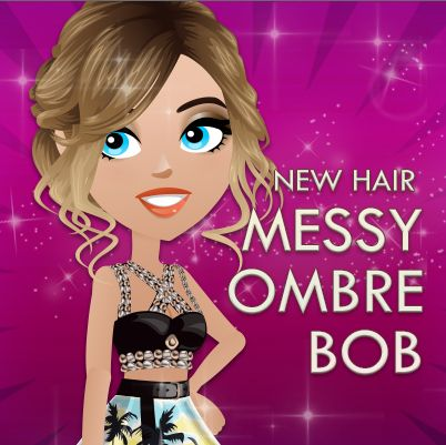 Messy Ombre Bob is our newest hairstyle! REPIN if you can't wait to get into the hair salon!