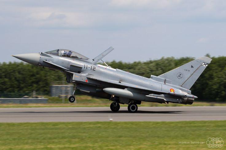 https://flic.kr/p/WkcfcA | Eurofighter Typhoon C.16-33 11-12 Ala 11 Spanish Air Force