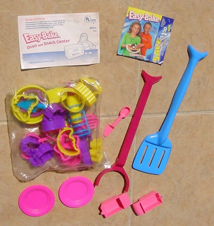 NEW Easy Bake Oven Accessories Replacement Spatula, Whisk, Rolling Pin & More