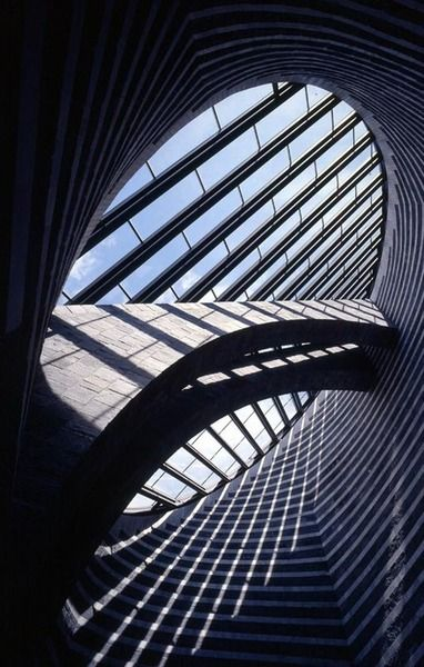 Chiesa di San Giovanni Battista, Mogno. Mario Botta, architect (1998). Photographed by Pino Musi.