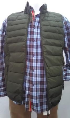 e5c9df08c45 Chaleco 100 % Poliéster, impermeable con dos bolsillos exteriores con  cierre de cremallera y dos