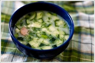 Okroshka, my favorite Russian Soup