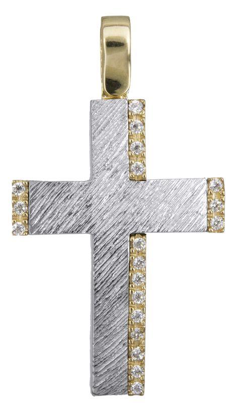 Βαπτιστικός σταυρός για κορίτσι Κ14 022617