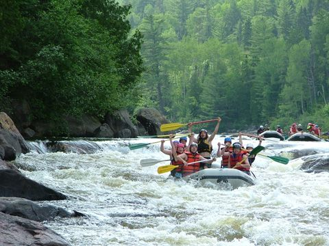 Rafting-Camping : Centre d'Aventure Mattawin