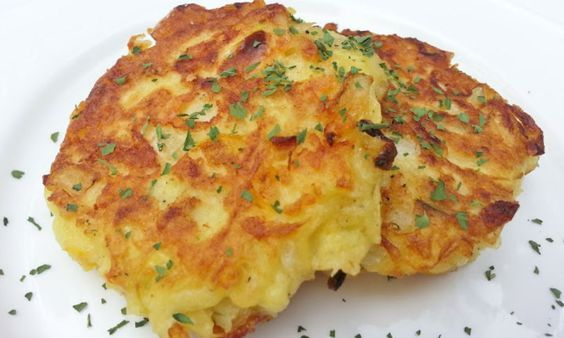 Weight Watchers Recipes | Baked Zucchini Fritters