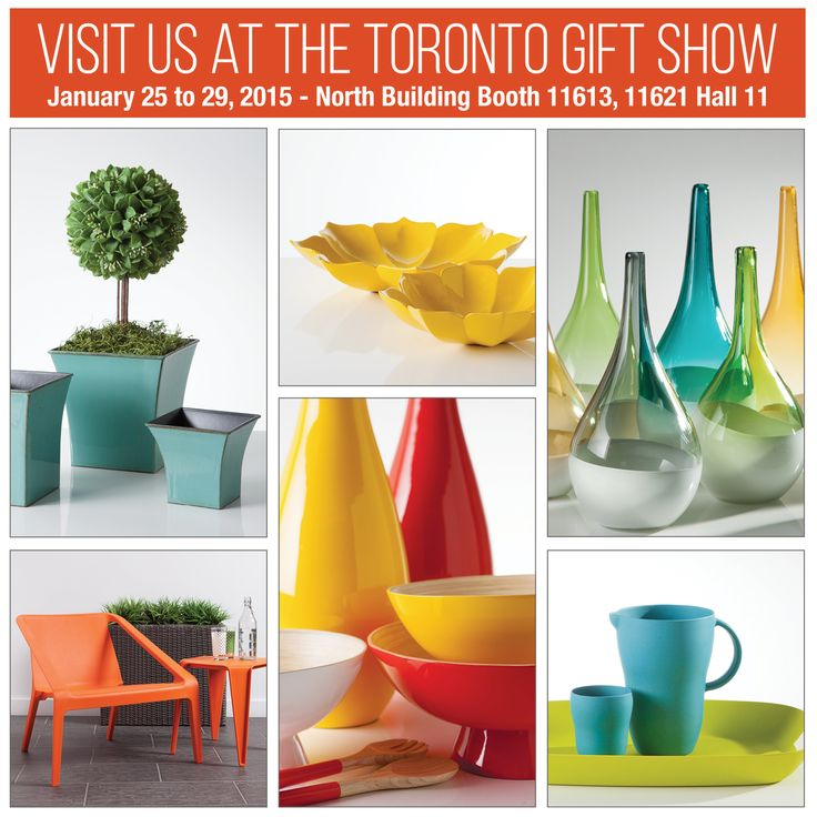 Visit us at the Toronto Gift Fair. See our fresh new spring collection featuring over 460 new products. January 25th – 29th North Building Hall H (11) Booth 11613 & 11621 Great show specials offered. #TorreAndTagus #TorontoGiftFair #TradeShow www.torretagus.com