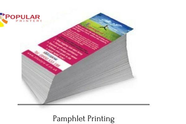 Pamphlet Printing in Jaipur, Rajasthan. https://www.popularprintersjaipur.com/pamphlet-printing/