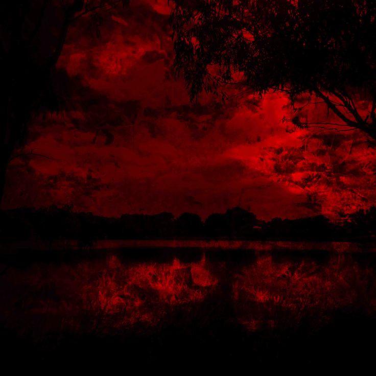James Mclean Mixed Media Bloodlake Medium: Photography + Digital Manipulation Size: 100cm x 100cm