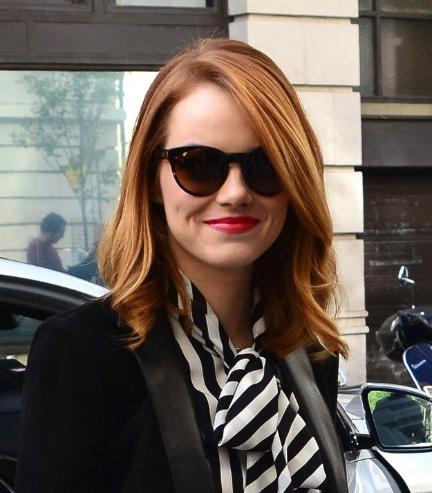 Emma Stone's Hair Has Been Off The Charts Recently -- www.literallydarling.com