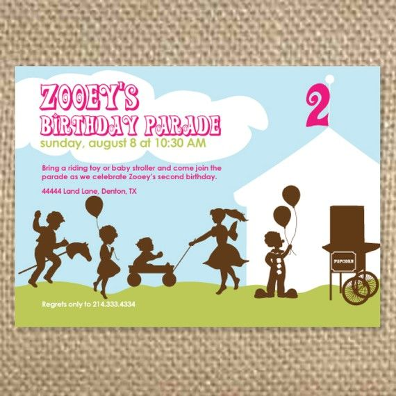 29 best images about kids birthday party invites – Custom Party Invitation