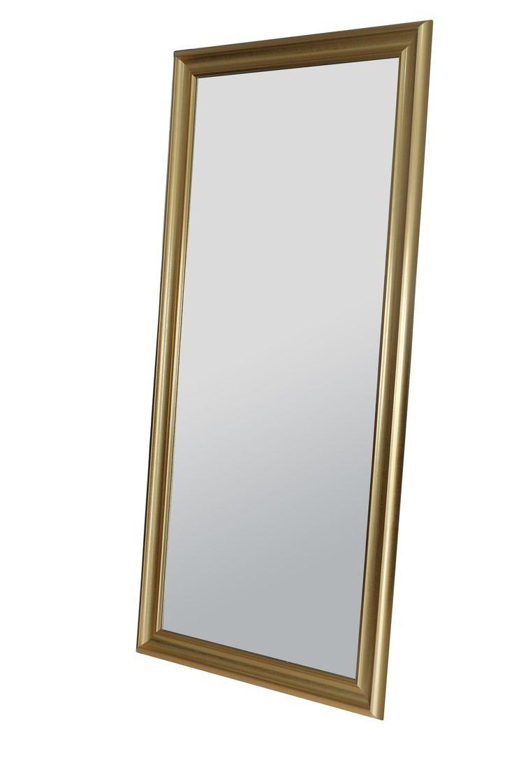 Modern Burnished Full Length Mirror