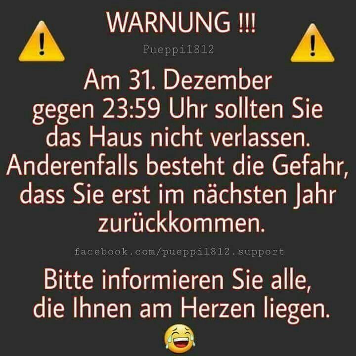 Pin Von Hubert Etzel Auf Neujahr Silvester Spruche Lustig Silvester Lustig Silvester Spruche