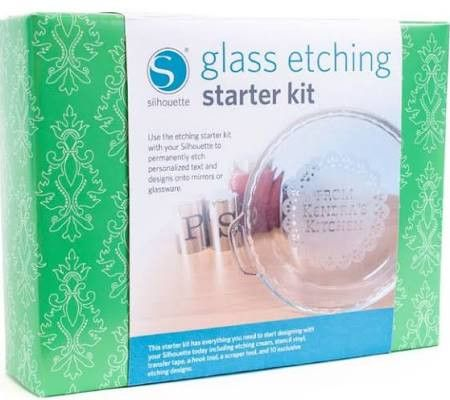 Silhouette Cameo Glass Etch Starter Kit