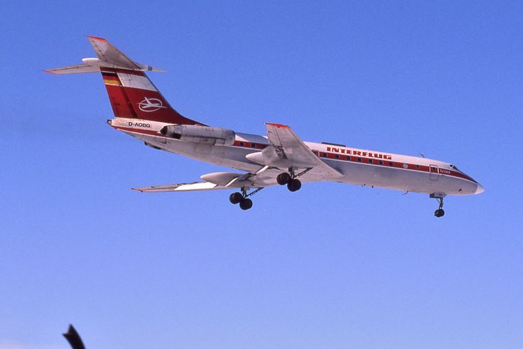 Interflug Tupolev Tu134