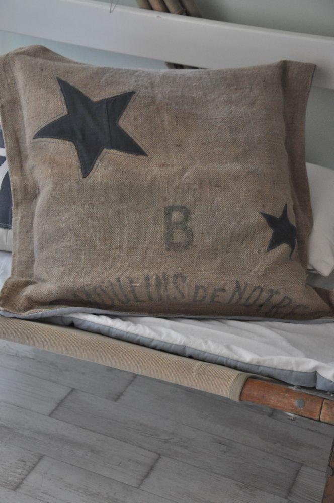 17 meilleures id es propos de toile de jute pouf sur pinterest t te de lit la toile de. Black Bedroom Furniture Sets. Home Design Ideas