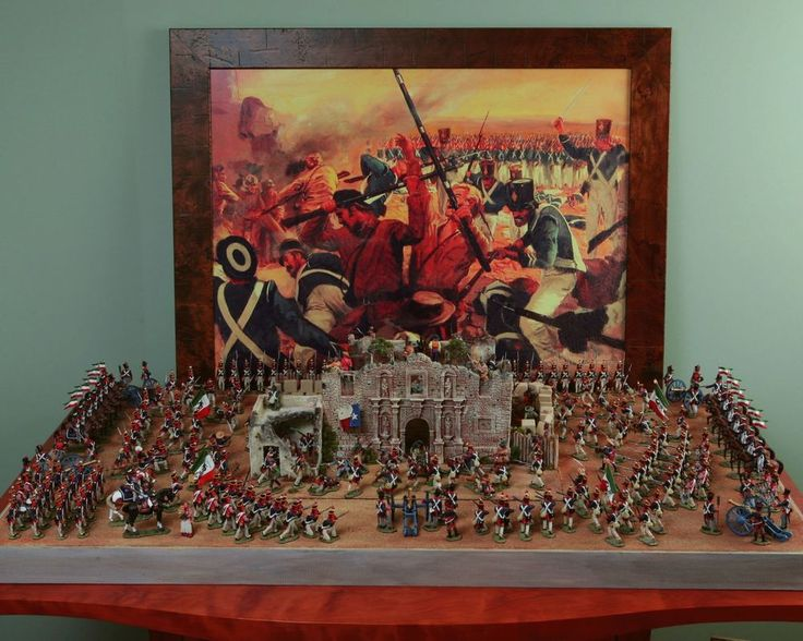 Toy Replica Of The Alamo 107