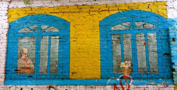 Graffiti in Candelaria, Bogota, Colombia
