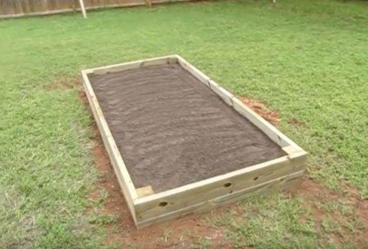 Super Einfaches Diy Angehobenes Garten Bett Erhohte Gartenbeete Gartenliege Erhohte Beete