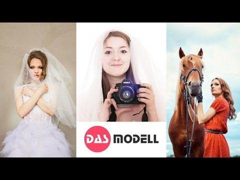 DAS MODELL - лаванда, кони, сбежавшая невеста (видео про фотосессию)