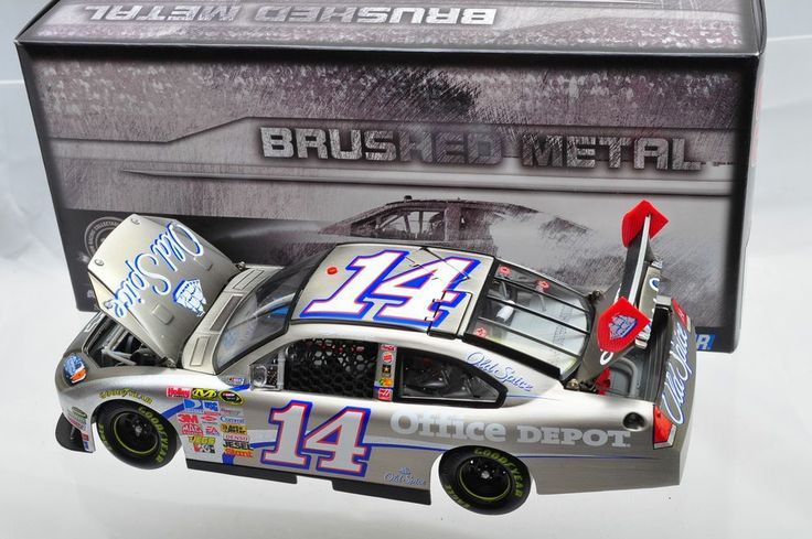 1/24~ACTION Tony Stewart #14 Office Depot 2009 Impala SS Brushed Metal 1/1056