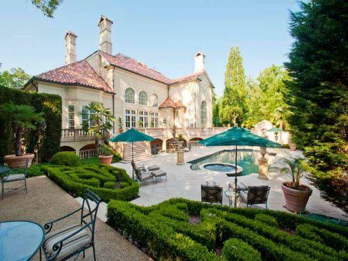 Mediterranean Mansion in Atlanta Georgia