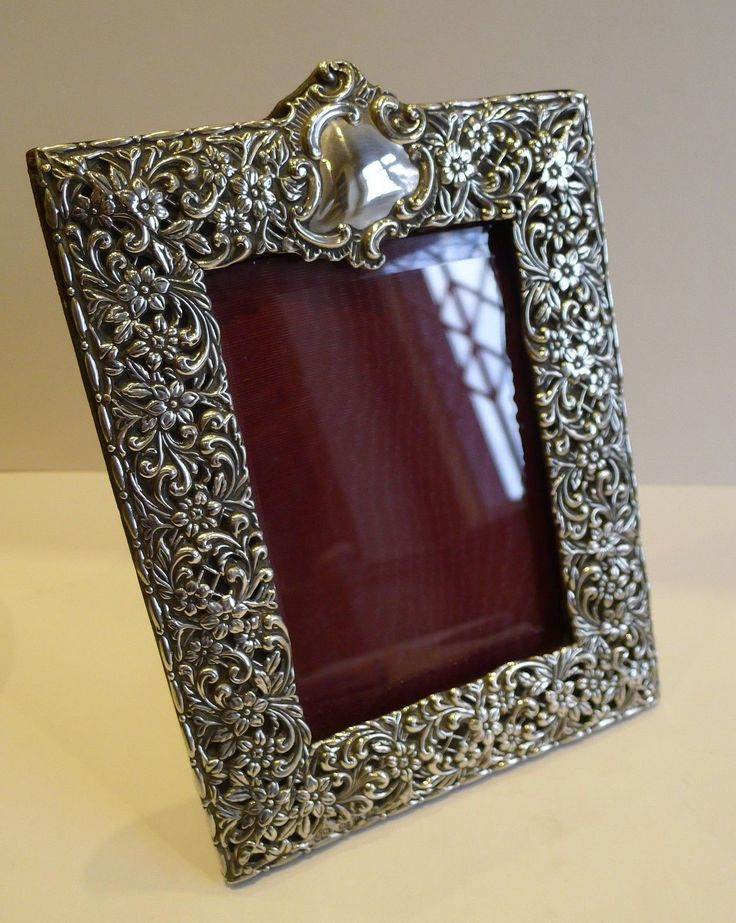 8 best Silver frames images on Pinterest | Silver frames, Silver ...
