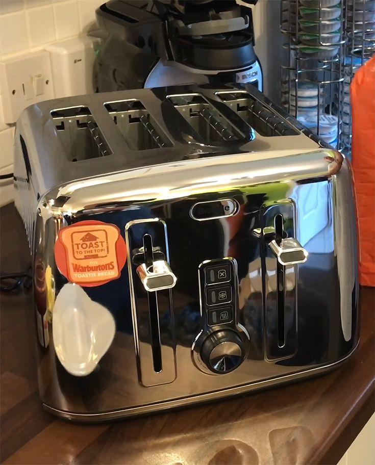 kitchenaid toaster red 4 slice